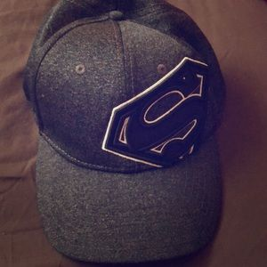 Superman fitted cap